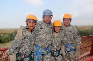 army jrotc leadership camp