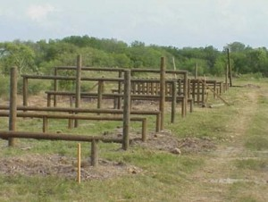 Military Obstacle Course Background