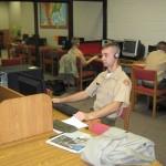 A student using FastForward