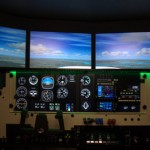 FMX flight simulator displays