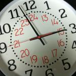 twenty four hour clock