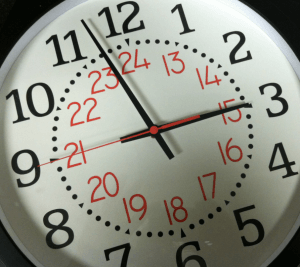 twenty four hour clock