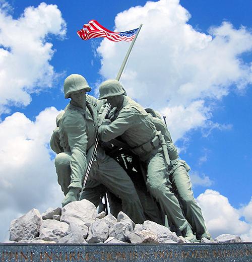 Iwo Jima Monument at the Marine Military Academy